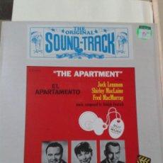 Discos de vinilo: LP - HISTORIA DE LA MUSICA EN EL CINE VOL. 40 - EL APARTAMENTO (THE APARTMENT). Lote 211428364