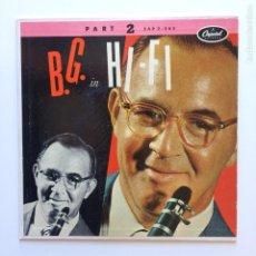 Discos de vinilo: BENNY GOODMAN ?– B.G. IN HI-FI FRANCE 1955 CAPITOL RECORDS. Lote 211428576
