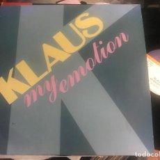 Discos de vinilo: KLAUS - MY EMOTION - MAXI DISCOS GAMES 86 ITALO DISCO. Lote 211429140