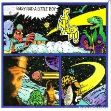 Discos de vinilo: SNAP - MARY HAD A LITTLE BOY - SINGLE SPAIN 1990. Lote 211429230
