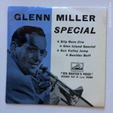 Discos de vinilo: GLENN MILLER AND HIS ORCHESTRA – GLENN MILLER SPECIAL UK 1957 HIS MASTR'S VOICE. Lote 211429234