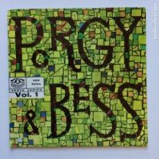 Discos de vinilo: ELLA FITZGERALD & LOUIS ARMSTRONG – PORGY & BESS VOL. 1 SWEDEN 1959 KARUSELL. Lote 211429960