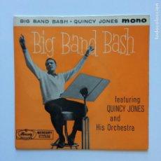 Discos de vinilo: QUINCY JONES AND HIS ORCHESTRA – BIG BAND BASH UK 1959 MERCURY. Lote 211430744