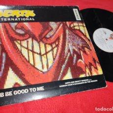 Discos de vinilo: BEATS INTERNATIONAL DUB BE GOOD TO ME (REMIXES) (3 VERSIONES) 12'' MX 1990 LONDON ESPAÑA SPAIN. Lote 211430789