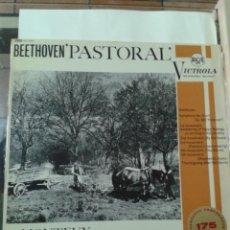 Discos de vinilo: BEETHOVEN PASTORAL. Lote 211430946
