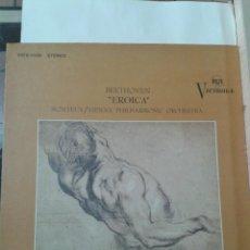 Discos de vinilo: BEETHOVEN EROICA. MONTEUX/VIENNA PHILARMONIC ORCHESTRA. Lote 211431140