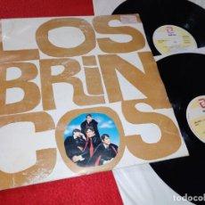 Discos de vinilo: LOS BRINCOS 2LP 1990 ZAFIRO LEER ESTADO. Lote 211431716