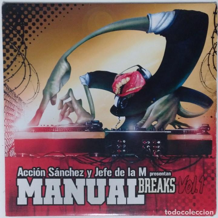 "ACCIÓN SANCHEZ Y JEFE DE LA M [HIP HOP / SCRATCH / TURNTABLISM] [[DJ TOOL LP 12"" 33RPM]] [2005] (Música - Discos - LP Vinilo - Rap / Hip Hop)"