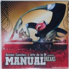 """Discos de vinilo: ACCIÓN SANCHEZ Y JEFE DE LA M [HIP HOP / SCRATCH / TURNTABLISM] [[DJ TOOL LP 12"""" 33RPM]] [2005]. Lote 211431885"""