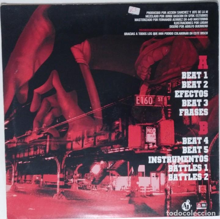 """Discos de vinilo: ACCIÓN SANCHEZ Y JEFE DE LA M [HIP HOP / SCRATCH / TURNTABLISM] [[DJ TOOL LP 12"""" 33RPM]] [2005] - Foto 2 - 211431885"""