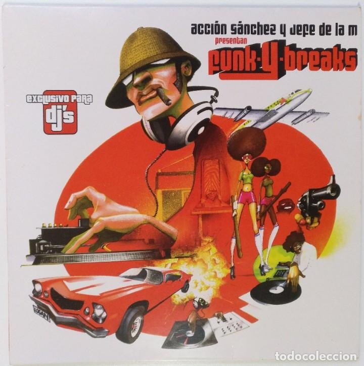"ACCIÓN SANCHEZ Y JEFE DE LA M [HIP HOP / SCRATCH / TURNTABLISM] [[DJ TOOL LP 12"" 33RPM]] [2004] (Música - Discos - LP Vinilo - Rap / Hip Hop)"