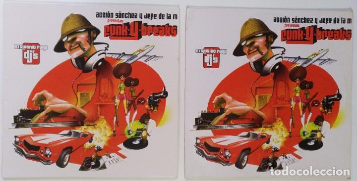 """Discos de vinilo: ACCIÓN SANCHEZ Y JEFE DE LA M [HIP HOP / SCRATCH / TURNTABLISM] [[DJ TOOL LP 12"""" 33RPM]] [2004] - Foto 3 - 211432671"""