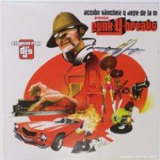 """Discos de vinilo: ACCIÓN SANCHEZ Y JEFE DE LA M [HIP HOP / SCRATCH / TURNTABLISM] [[DJ TOOL LP 12"""" 33RPM]] [2004]. Lote 211432806"""