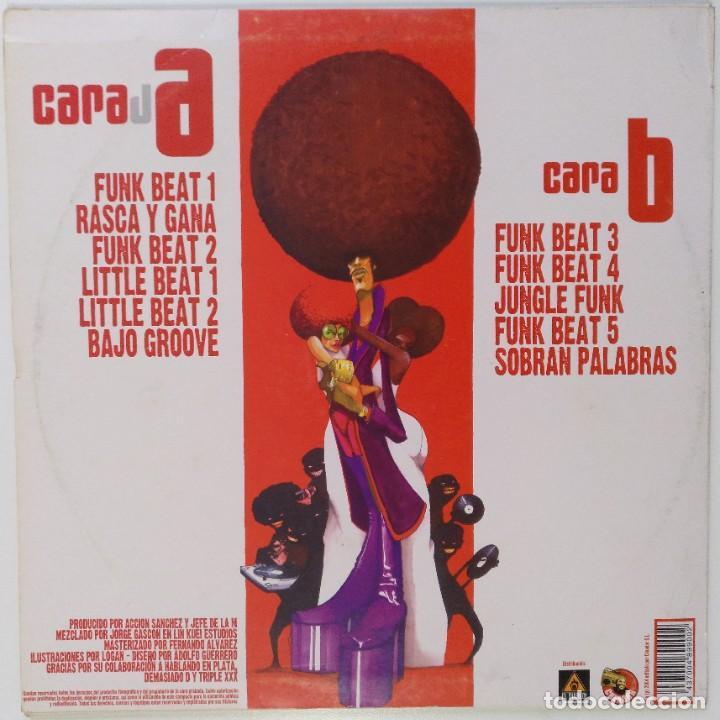 """Discos de vinilo: ACCIÓN SANCHEZ Y JEFE DE LA M [HIP HOP / SCRATCH / TURNTABLISM] [[DJ TOOL LP 12"""" 33RPM]] [2004] - Foto 2 - 211432806"""