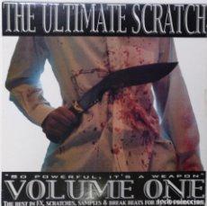 "Discos de vinilo: THE ULTIMATE SCRATCH VOL.1 [HIP HOP / SCRATCH / TURNTABLISM] [DJ BATTEL TOOL LP 12"" 33RPM] [2004]. Lote 211434900"