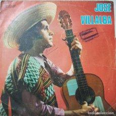 Discos de vinilo: RARO DISCO DE JOSÉ VILLALBA DE LA DISCOGRAFICA CANARIA FONO GUANCHE DE 1972. Lote 211434995
