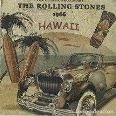 Discos de vinilo: ROLLING STONES - HAWAII 1966 THE CLASSIC BROADCAST | LIMITED EDITION IN CLEAR VINYL | NUEVO. Lote 211436015