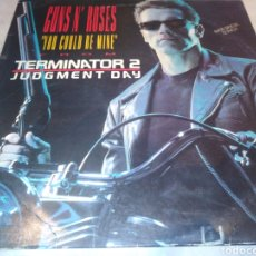 Discos de vinilo: GUNS N' ROSES-YOU COULD BE MINE-TERMINATOR 2. Lote 211436521