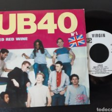 Dischi in vinile: UB 40. RED WINE. SUFFERIN. VIRGIN 1983. ESPAÑA. Lote 211439160