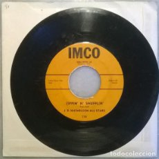 Discos de vinilo: J.D. NICHOLSON ALL STARS. ANNIE JO/ TIPPIN' N' SHUFFLIN'. IMCO, USA 1963 SINGLE R&B. Lote 211439681