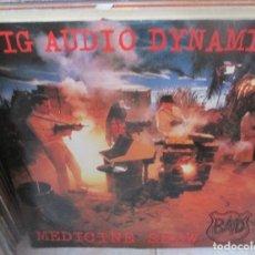 Discos de vinilo: BIG AUDIO DYNAMITE - MEDICINE SHOW - MAXI EP 45 RPM. - CBS 1986. Lote 211445340