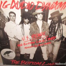 Discos de vinilo: BIG AUDIO DYNAMITE -. THE BOTTOM LINE - REMIX BY RICK RUBIN. MAXI 1985. Lote 211445374