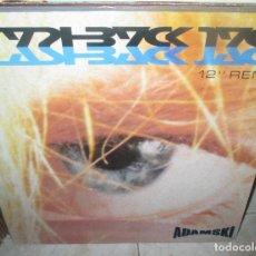 Discos de vinilo: ADAMSKI - FLASHBACK JACK - FLASHBACK OF THE CLUB MIX + DE-JA-VU-MIX 1990- MAXI. Lote 211445445