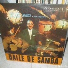 Discos de vinilo: SYLVIO MAZZUCCA – BAILE DE SAMBA - LP BRAZIL 1960. Lote 211445975