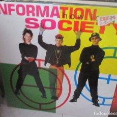 Discos de vinilo: INFORMATION SOCIETY. HOW LONG MAXI. Lote 211448754