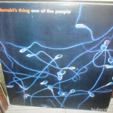 Discos de vinilo: ADAMSKI - ONE OF THE PEOPLE - MAXI VALE MUSIC 4 TEMAS -1998. Lote 211448831