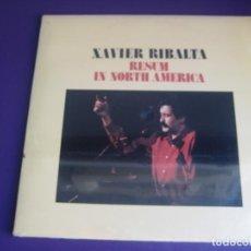Discos de vinilo: XAVIER RIBALTA DOBLE LP RCA 1979 PRECINTADO - RESUM IN NORTH AMERICA - CANÇO CATALANA - RAIMON. Lote 211448859