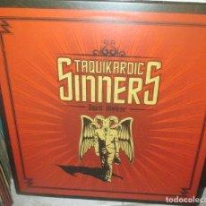 Discos de vinilo: TAQUIKARDIC SINNERS ?– DEVIL WALKER - LP 2012 - DESERT PEARL UNION ? 004 - PUNK-HARD ROCK - NUEVO. Lote 211449397