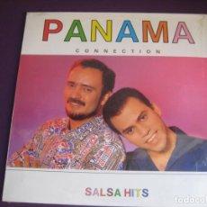 Discos de vinilo: PANAMÁ CONNECTION - SALSA HITS LP PASION 1990 PRECINTADO - JOE BORSANI - LATIN SALSA POP. Lote 211451151