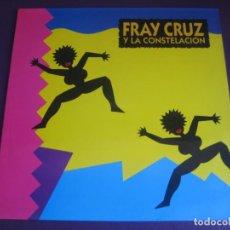 Discos de vinilo: FRAY CRUZ Y LA CONSTELACIÓN LP ESPECTACULAR 1990 - LATIN SALSA - SIN ESTRENAR. Lote 211451370