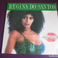 Discos de vinilo: REGINA DO SANTOS LP HORUS 1991 PRECINTADO - DIFERENTE - BRASIL MPB - SAMBA - LLOBELL. Lote 211451791