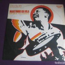 Discos de vinilo: MARTINHO DA VILA - BATUQUE NA COZINHA RCA BRASIL 1972 - MUY POCO USO - SAMBA BATUCADA 70'S. Lote 211452756