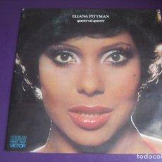 Discos de vinilo: ELIANA PITTMAN - QUEM VAI QUERER LP RCA 1977 BRASIL - JAZZ FUNK SOUL - SAMBA BRASIL - SIN USO. Lote 211453096