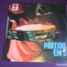 Discos de vinilo: PARTIDO EM 5 LP TAPECAR 1972 - LATIN SAMBA - DIRIA Q SIN ESTRENAR - MPB. Lote 211453366