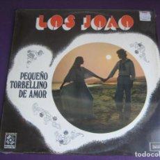 Discos de vinilo: LOS JOAO - PEQUEÑO TORBELLINO DE AMOR LP MUSART ZAFIRO MEXICO 1973 PRECINTADO - LATIN POP. Lote 211453556