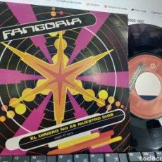 Discos de vinilo: FANGORIA SINGLE EL DINERO NO ES NUESTRO DIOS 1992 /2. Lote 211460060