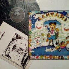 Discos de vinilo: LP: EUZKO ABESLARI TXIKIEN ALKARTASUNA - KANTARI (XOXOA, 1979) - CONSERVA HOJA INTERIOR CON LETRAS -. Lote 211461414