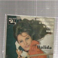 Discos de vinilo: DALILA PARTIE FOOTBALL. Lote 211465197