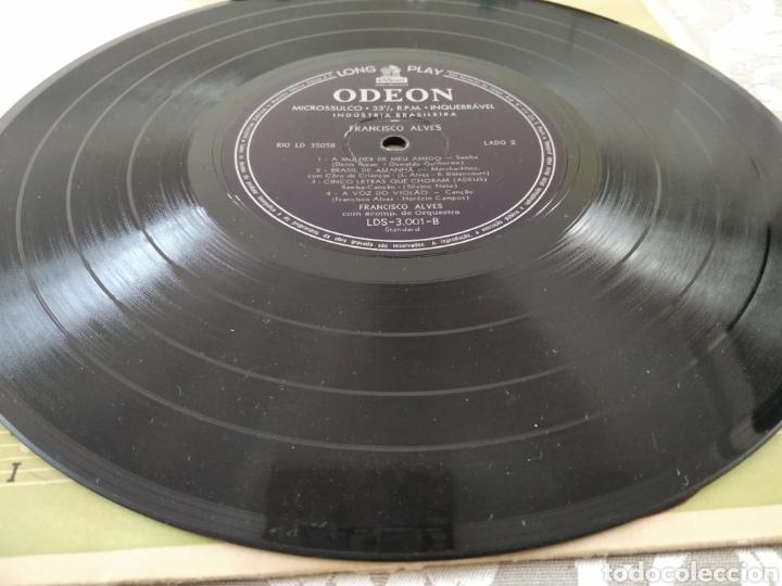 """Discos de vinilo: Raro Disco Vinilo Francisco Alves Album da Saudade 10"""" - Foto 5 - 211466374"""