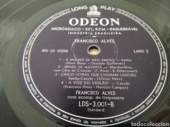 """Discos de vinilo: Raro Disco Vinilo Francisco Alves Album da Saudade 10"""" - Foto 6 - 211466374"""