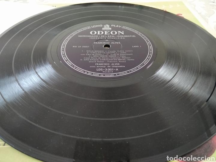 """Discos de vinilo: Raro Disco Vinilo Francisco Alves Album da Saudade 10"""" - Foto 7 - 211466374"""