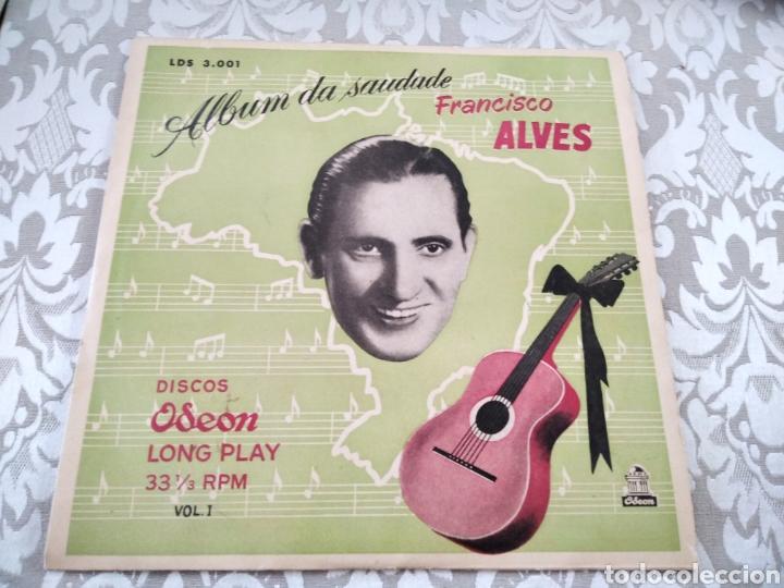 "RARO DISCO VINILO FRANCISCO ALVES ALBUM DA SAUDADE 10"" (Música - Discos de Vinilo - EPs - Cantautores Internacionales)"