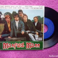Discos de vinilo: EP MANFRED MANN - I CAN'T BELIEVE WHAT YOU SAY +3 - EPL 14.303 - SPAIN PRESS (EX-/EX-). Lote 211467955