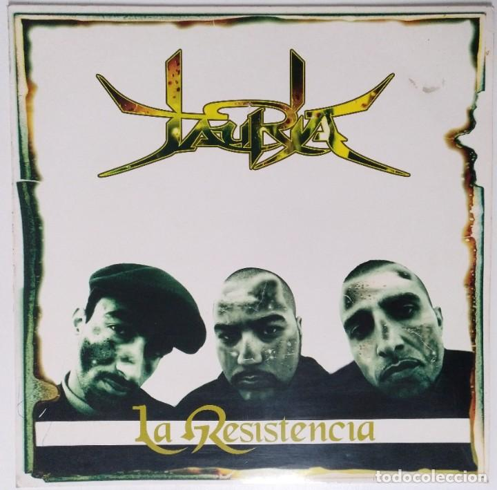 "JAURIA - LA RESISTENCIA [BCN HIP HOP / RAP] [[EDICIÓN ORIGINAL LIMITADA MX 12"" 45RPM]] [[1999]] (Música - Discos de Vinilo - Maxi Singles - Rap / Hip Hop)"