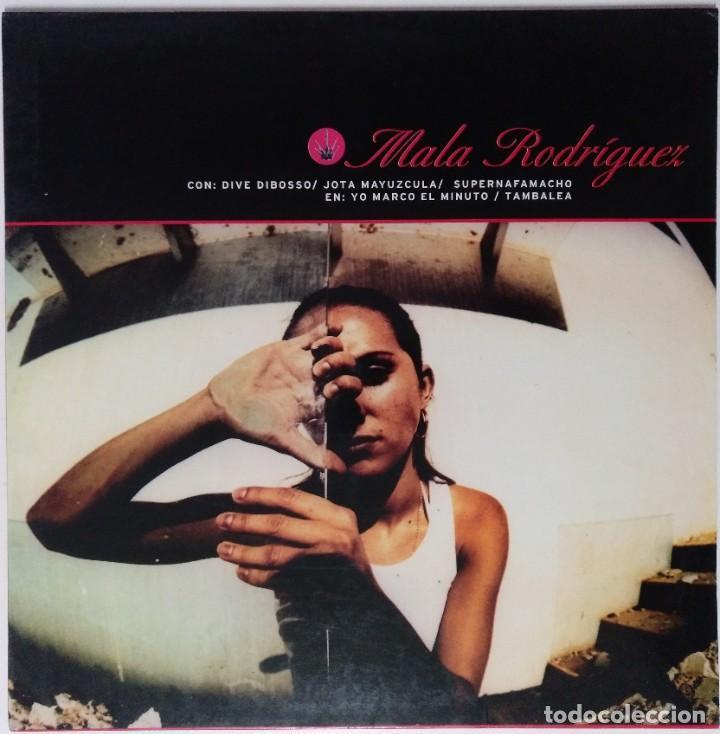 "MALA RODRIGUEZ - YO MARCO EL MINUTO [HIP HOP / RAP] [EDICIÓN ORIGINAL LIMITADA MX 12"" 45RPM] [2000] (Música - Discos de Vinilo - Maxi Singles - Rap / Hip Hop)"