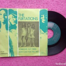 Discos de vinilo: SINGLE THE FLIRTATIONS - SOMEONE OUT THERE - MO 460 - SPAIN PRESS (EX+/EX+). Lote 211472411